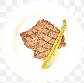 Steak Veal - Dish Food Cuisine Ingredient Pork Chop PNG