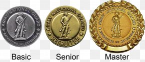 Badges - National Guard Of The United States Army National Guard Uniform Service Recruiter Badges United States Army PNG
