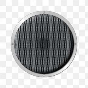 Round Metal Stereo Speakers - Adobe Premiere Pro ICO Icon PNG