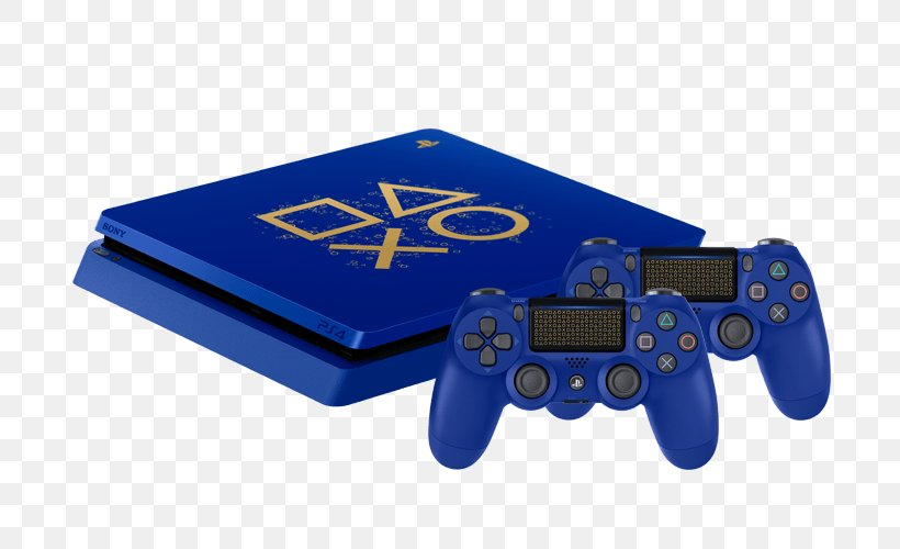 Sony PlayStation 4 Slim Sony PlayStation 4 Pro Video Game Consoles PlayStation VR, PNG, 700x500px, Playstation, All Xbox Accessory, Cobalt Blue, Electric Blue, Electronics Accessory Download Free