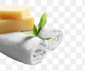 Spa Towels Soap Photograph - Towel Spa Soap PNG