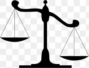 Lawyer Icon - Measuring Scales Justice Clip Art Balans Image PNG