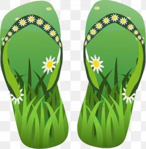 Summer Cliparts - Flip-flops Sandal Clip Art PNG