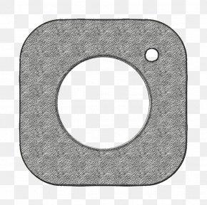Metal Social Icon - Camera Icon Media Icon Network Icon PNG