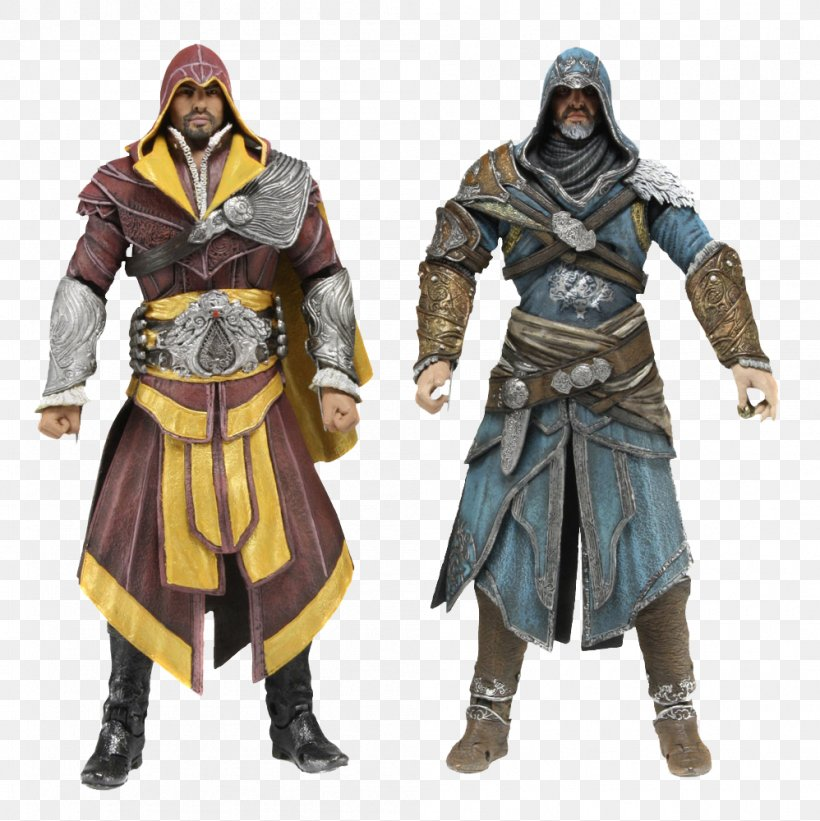 Assassin's Creed: Brotherhood Assassin's Creed: Revelations Assassin's Creed II Ezio Auditore Assassin's Creed: Ezio Trilogy, PNG, 998x1000px, Ezio Auditore, Action Figure, Action Toy Figures, Armour, Assassins Download Free