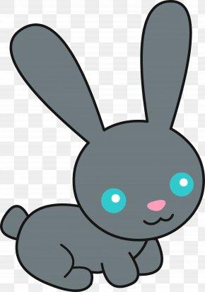 Funny Bunny Cliparts - Easter Bunny Rabbit Cuteness Clip Art PNG