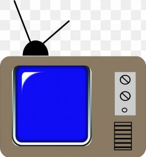 Cartoon Hand-painted TV Screen - Television Set Cartoon PNG