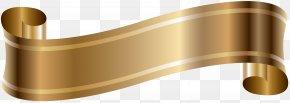 Elegant Banner Old Gold Clip Art - Wiring Diagram Clip Art PNG