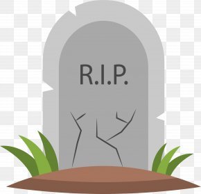 The Grassy Grave - Tomb Clip Art PNG