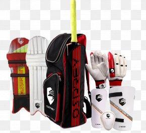 Cricket - Cricket Bats Batting Glove Pads PNG