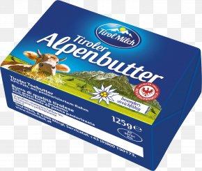 Milk - Milk Tirol Milch Reg.Gen.mbH Innsbruck Butter Taurine Cattle Alpine Goat PNG