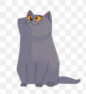 Cartoon Cat - Cat Kitten Felidae Drawing Illustration PNG