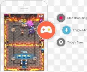 Omlet - Clash Royale GamesRadio Brand Gadget PNG