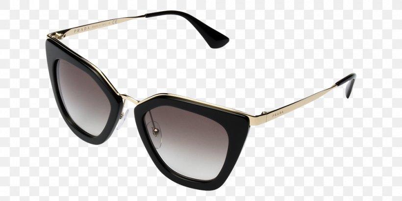 Goggles Sunglasses Prada PR 53SS Designer, PNG, 1000x500px, Goggles, Brand, Designer, Eyewear, Furla Download Free