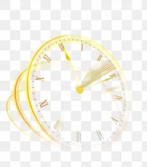 Whitening Replenishment Time Cosmetics - Yellow Circle PNG