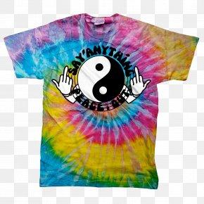 T-shirt Pattern - T-shirt Hoodie Tie-dye PNG