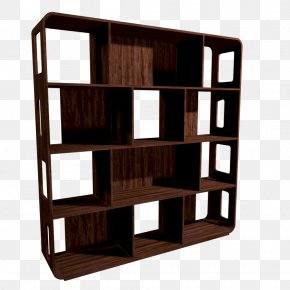 House - Shelf Bookcase House Room Furniture PNG