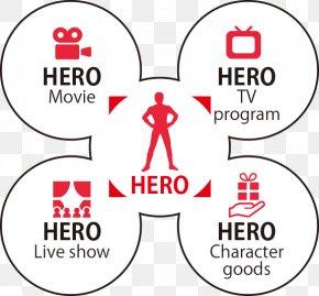 Hero Dream - Brand Human Behavior Line Point Clip Art PNG