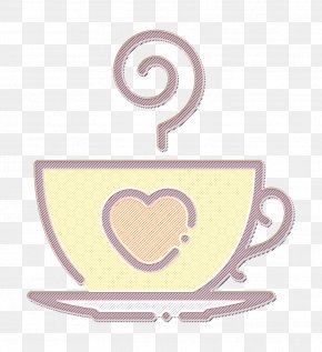 Saucer Tableware - Heart Icon Love Icon Marriage Icon PNG