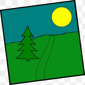 Tree - Landscape Clip Art For Summer Tree Clip Art PNG