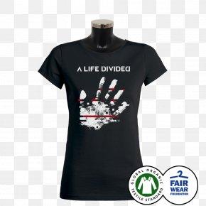 T-shirt - T-shirt Hoodie Sleeveless Shirt Collar Cotton PNG