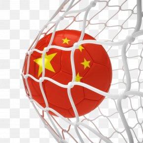 Creative Chinese Flag Football - European Union Football PNG