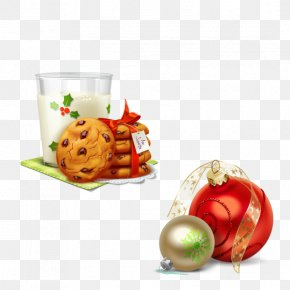 3D Creative Christmas - Christmas Cookie Chocolate Chip Cookie Biscuit Clip Art PNG