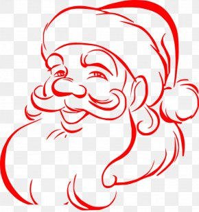 Red Santa Claus PNG