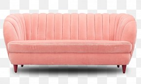 Pink Couch - Loveseat Couch Sofa Bed Furniture PNG