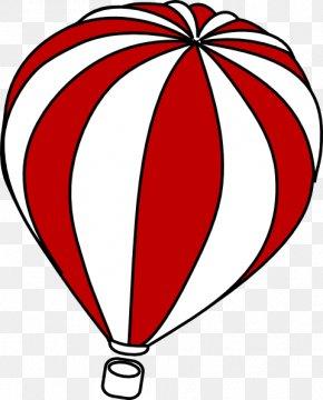 Hot Air Balloon Outline - Hot Air Balloon Clip Art PNG