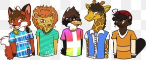 T-shirt - T-shirt Cartoon Human Behavior PNG