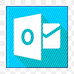 Electric Blue Azure - Email Icon Mail Icon Microsoft Icon PNG