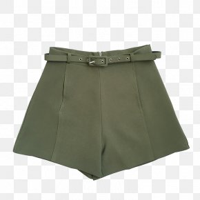 Army Green Shorts - Shorts Trousers Suit PNG