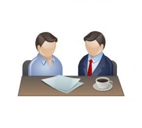Business Discussion Cliparts - Meeting Businessperson Clip Art PNG