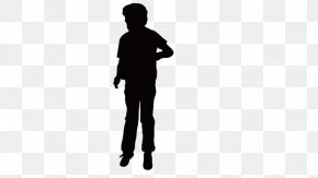 Man Standing - Silhouette Man PNG