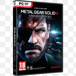 Metal Gear Solid 5 - Hideo Kojima Metal Gear Solid V: The Phantom Pain Metal Gear Solid V: Ground Zeroes Big Boss PNG