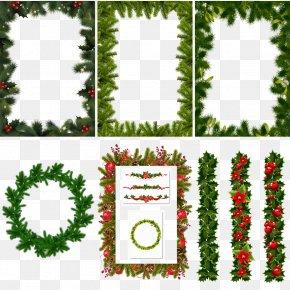 Christmas Border - Christmas Tree Christmas Gift Christmas Decoration PNG
