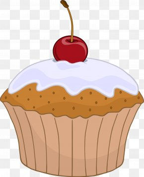 Cake - English Muffin Cupcake Frosting & Icing Clip Art PNG