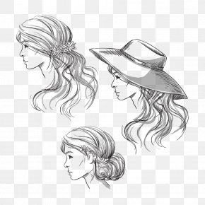 Hat Beauty - Hat Drawing Stock Photography Sketch PNG
