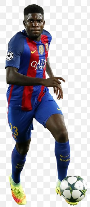 Fc Barcelona - Samuel Umtiti FC Barcelona France National Football Team 2018 World Cup Football Player PNG