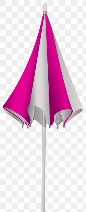 Closed Beach Umbrella Transparent Clip Art Image - Umbrella Beach Clip Art PNG