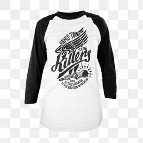 T-shirt - T-shirt Sleeve The Killers Battle Born World Tour Wonderful Wonderful PNG