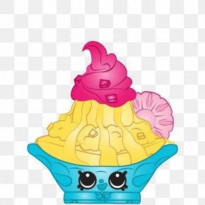 Ice Cream - Ice Cream Cones Shopkins Clip Art PNG