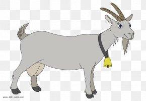 Goat - Boer Goat Sheep Cartoon Clip Art PNG