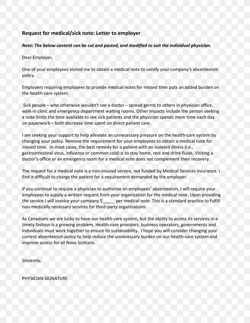 Document Cover Letter Application For Employment Template