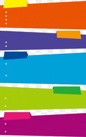 Multicolor Text Box - Text Box Color PNG