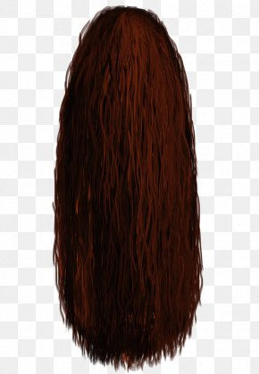 Long Hair - Brown Hair Long Hair Mohawk Hairstyle PNG