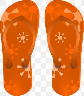 Cliparts Slippers - Flip-flops Free Content Clip Art PNG