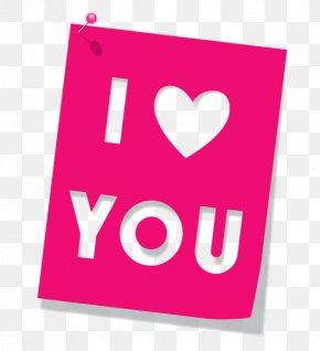 I Love You Font - Love Heart Clip Art PNG