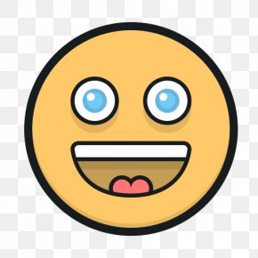 Cartoon Smiley - Smiley Application Software Download Icon PNG
